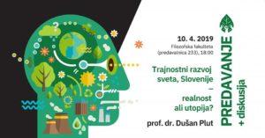 Trajnostni razvoj sveta, Slovenije – realnost ali utopija?