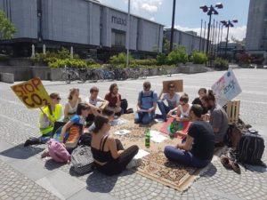 Čitalnica na Vodnikovi Domačiji Šiška na temo Mladih za podnebno pravičnost
